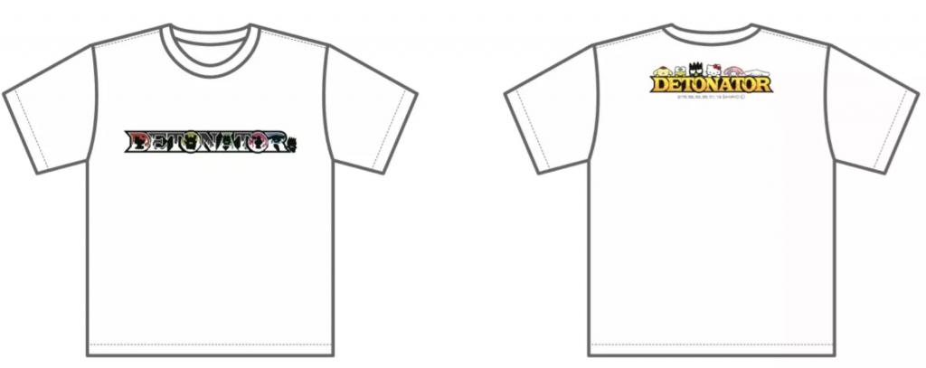 Tシャツは1デザインで、白生地、黒生地、の2種類