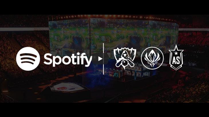 『Spotify』が LoL Esports 公式オーディオストリーミングパートナーとして締結を発表!