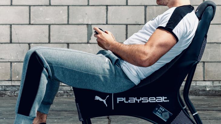 ついに日本上陸!レーシングゲーム用シートメーカー「PLAYSEAT(プレイシート)」との共同開発!革新的なPUMAとのコラボで誕生した次世代のゲーミングチェア発売!